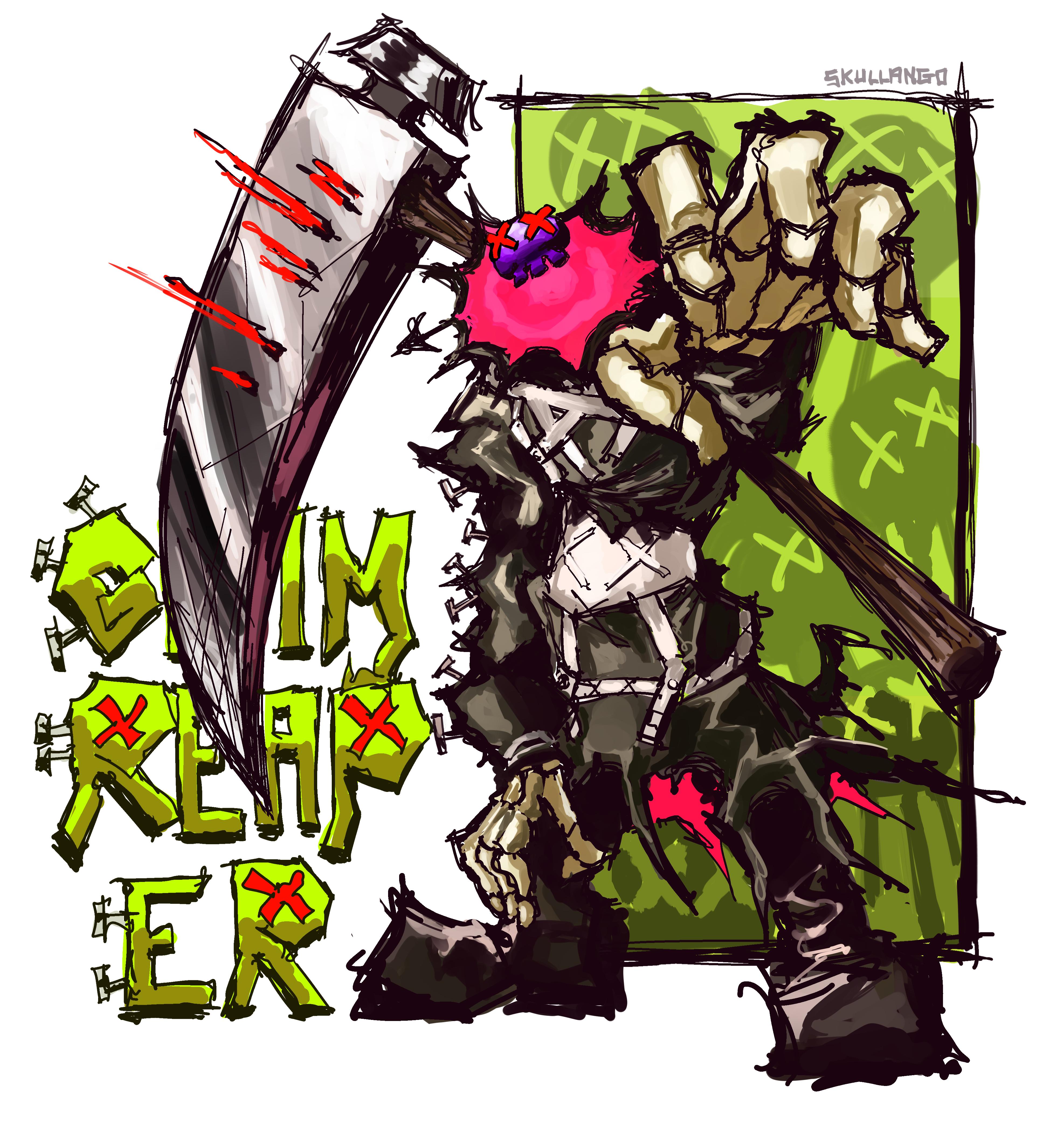 GRIM REAPER [ART TRADE]