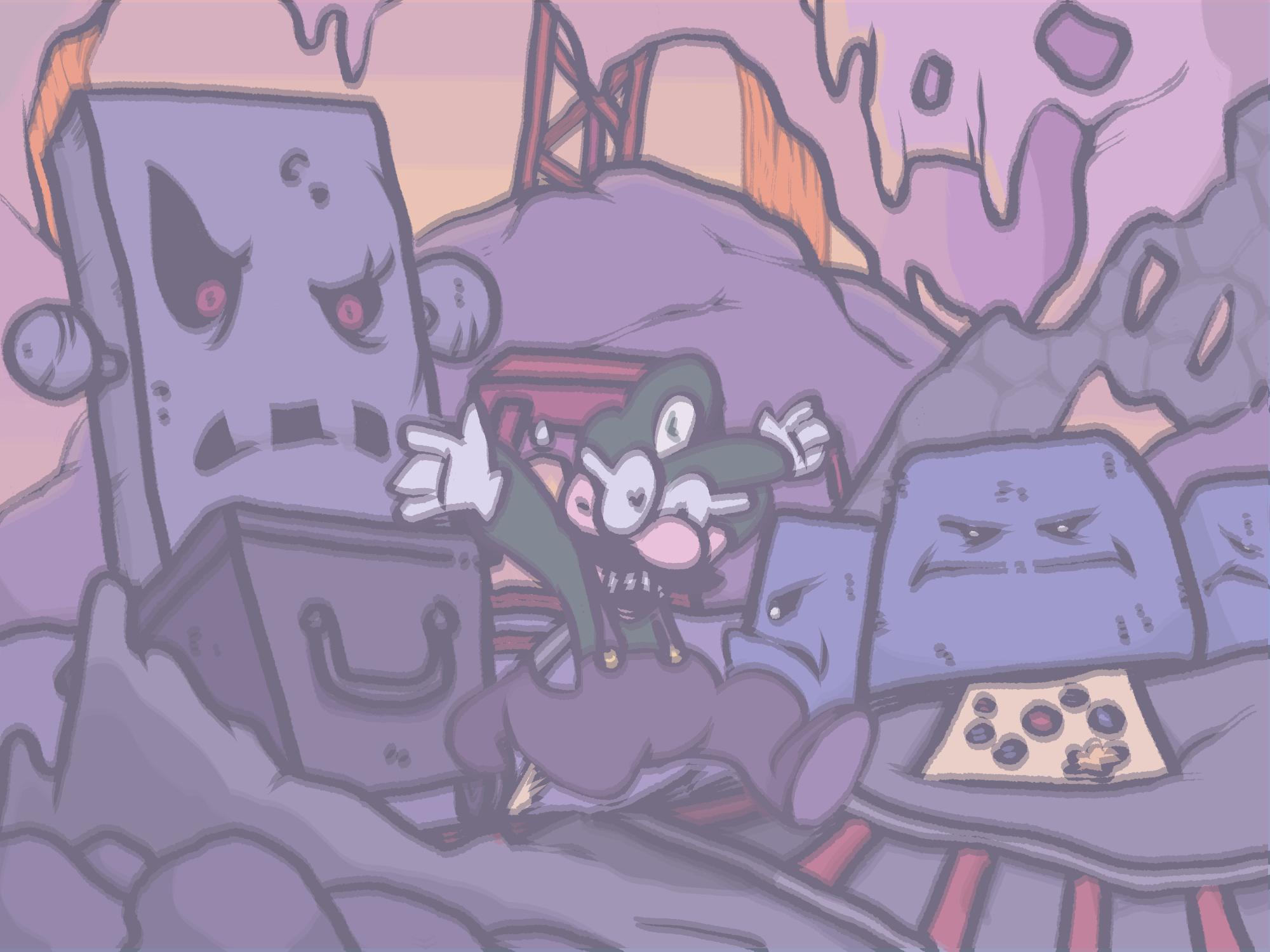 Creepy Caverns