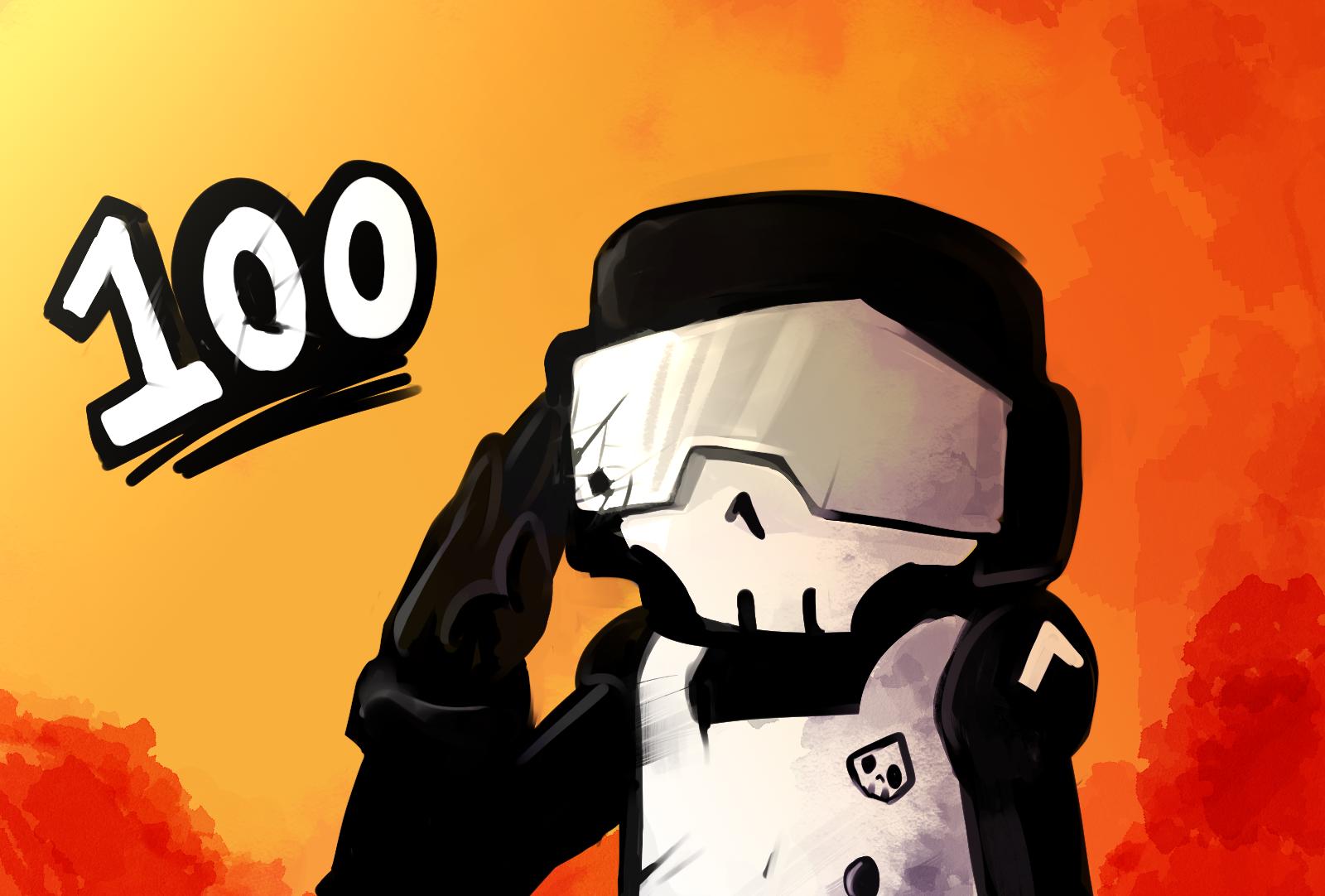 Tanks for 100!