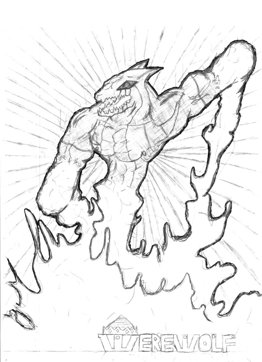 Spirit werewolf two