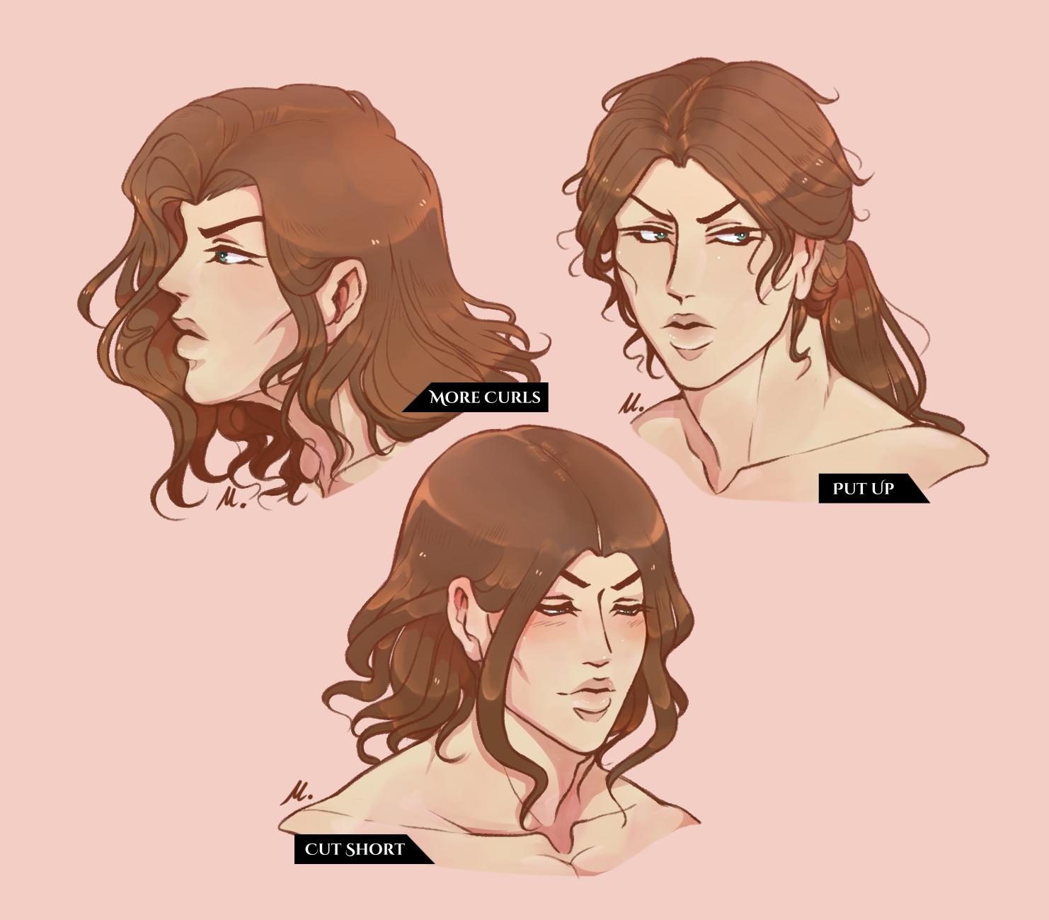Cullen Hairstyles