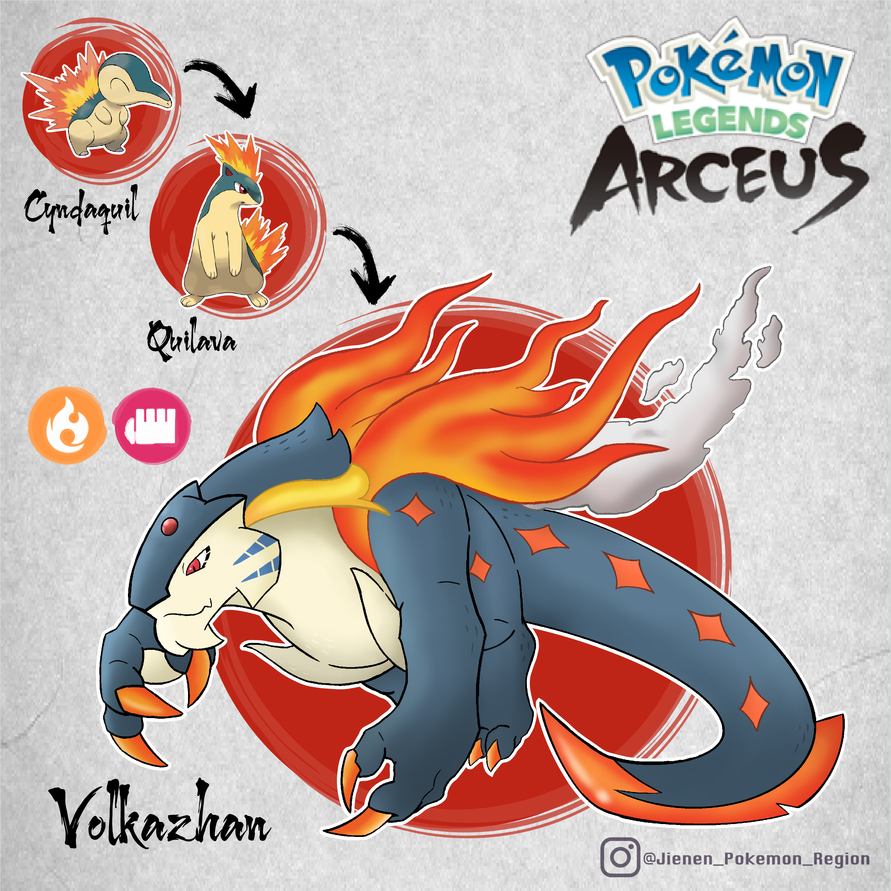 Pokemon Legends Arceus - Volkazhan