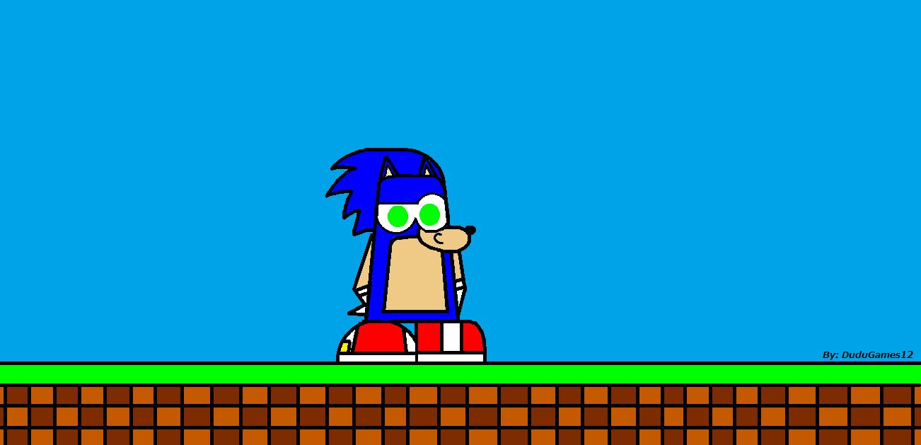 Sonic Club Penguin Version