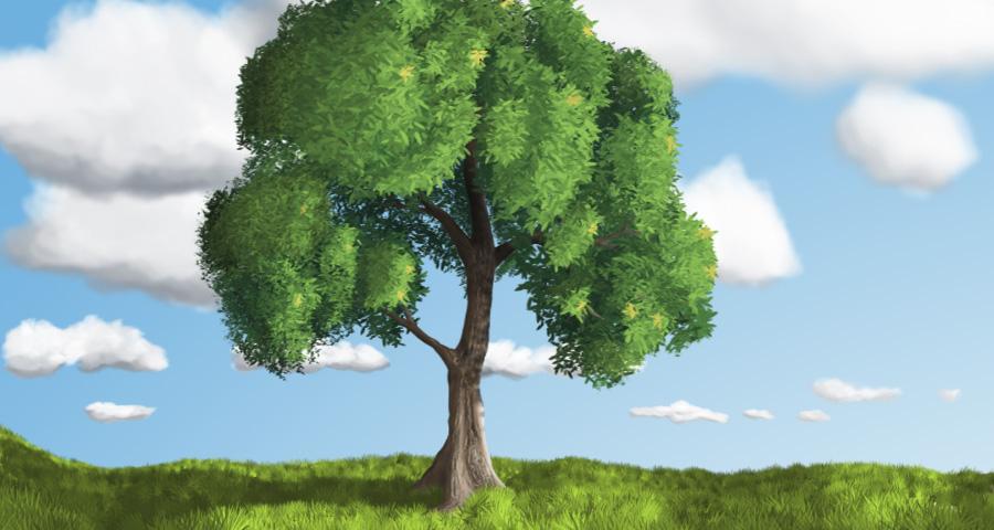 A Tree, duh!