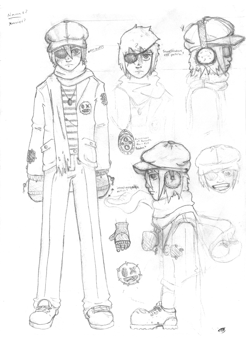 Concept Sheet: Xavier