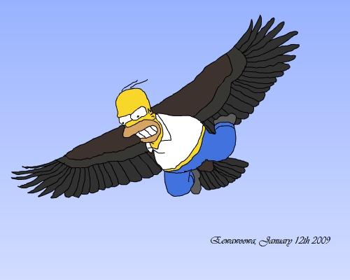 Homer the Eagle