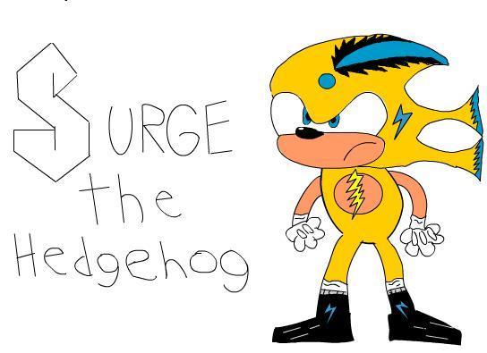 Surge the Hedgehog