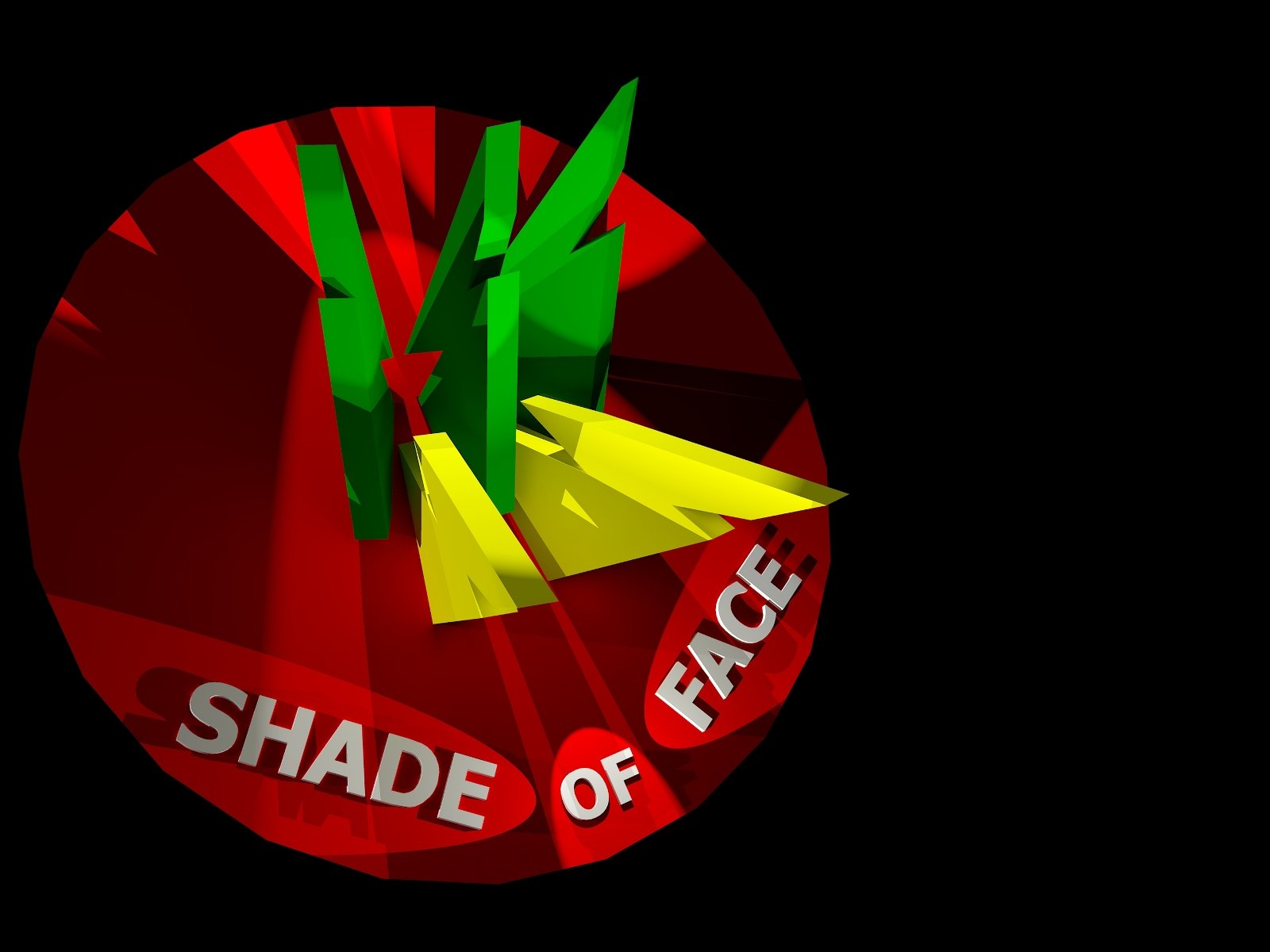 Shade of face disc