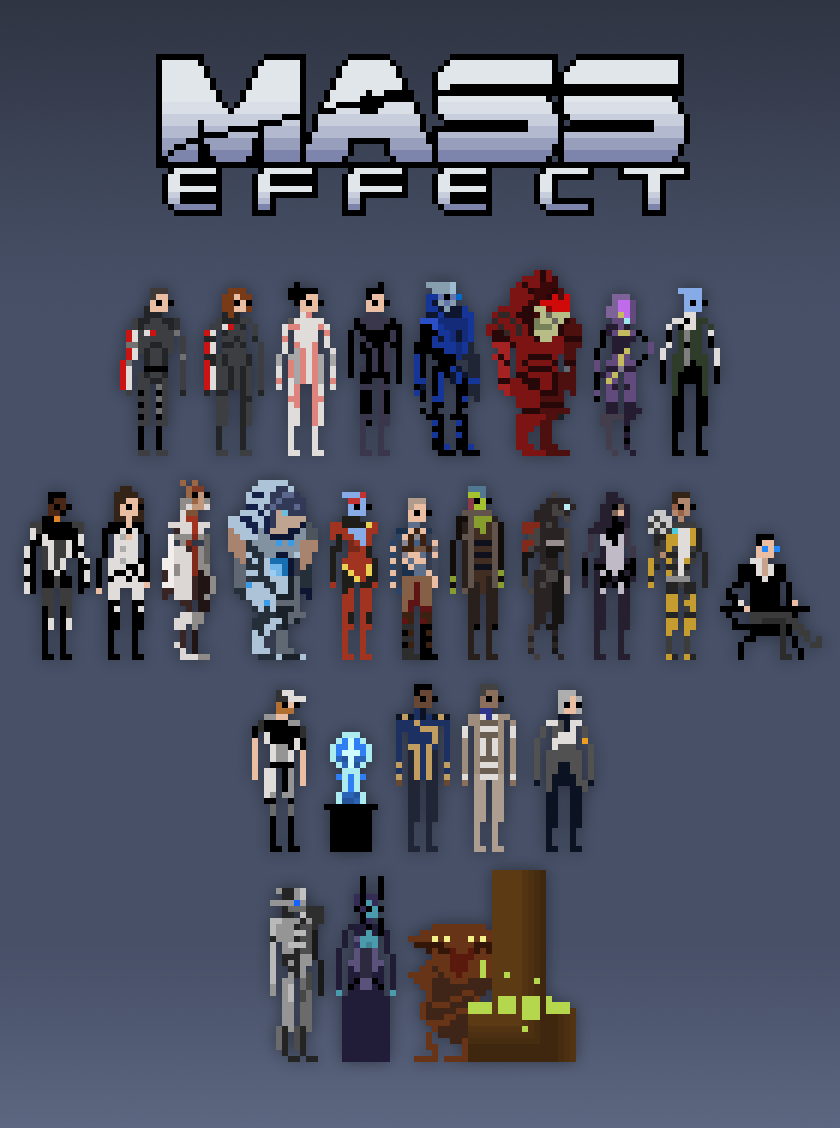 Mass Effect Pixels