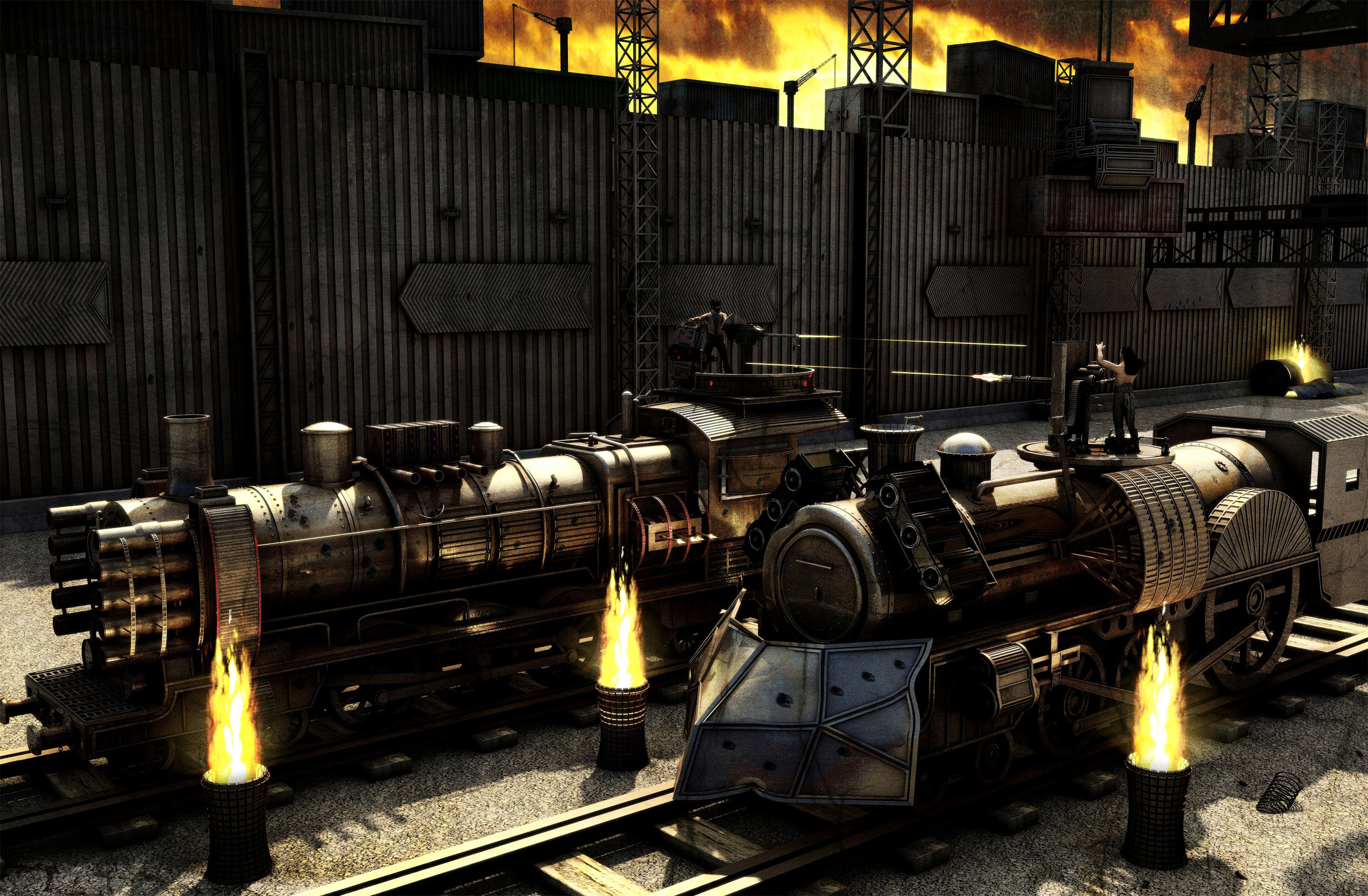 Trains of War