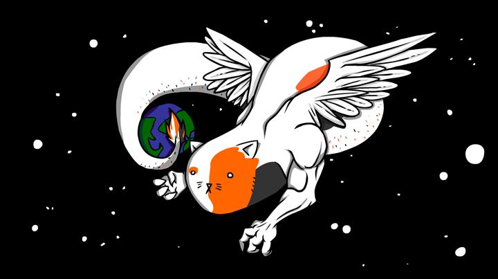 The Cosmic Cat