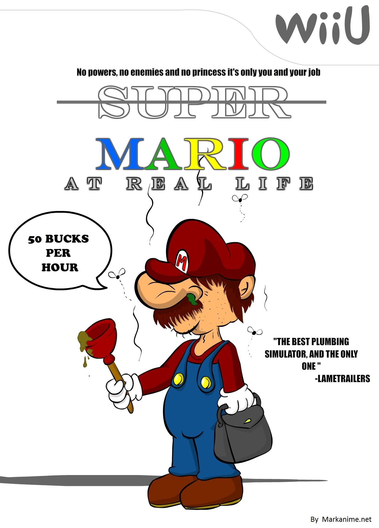Mario at real life