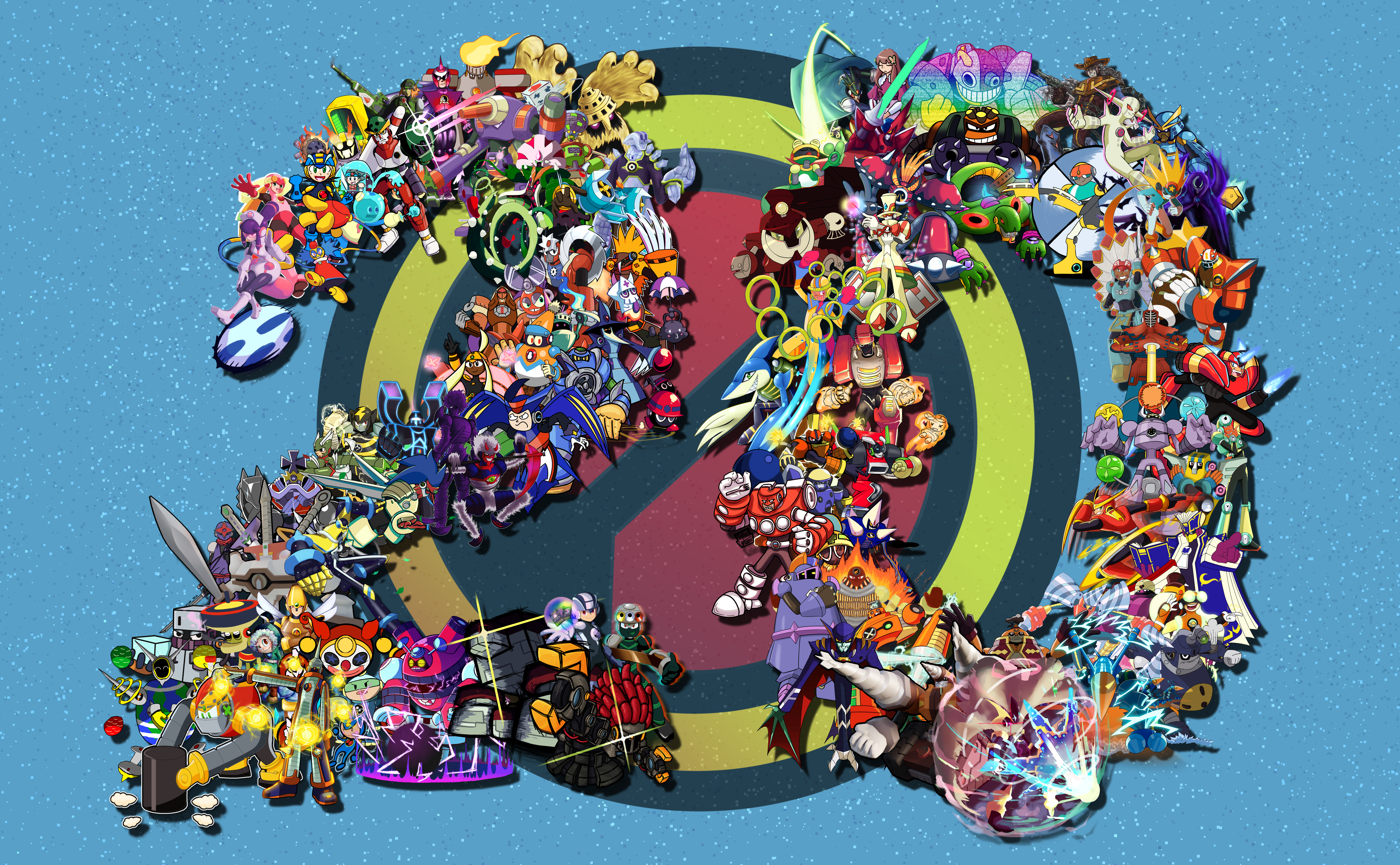 MegaMan Battle Network 20th Anniversary Collab