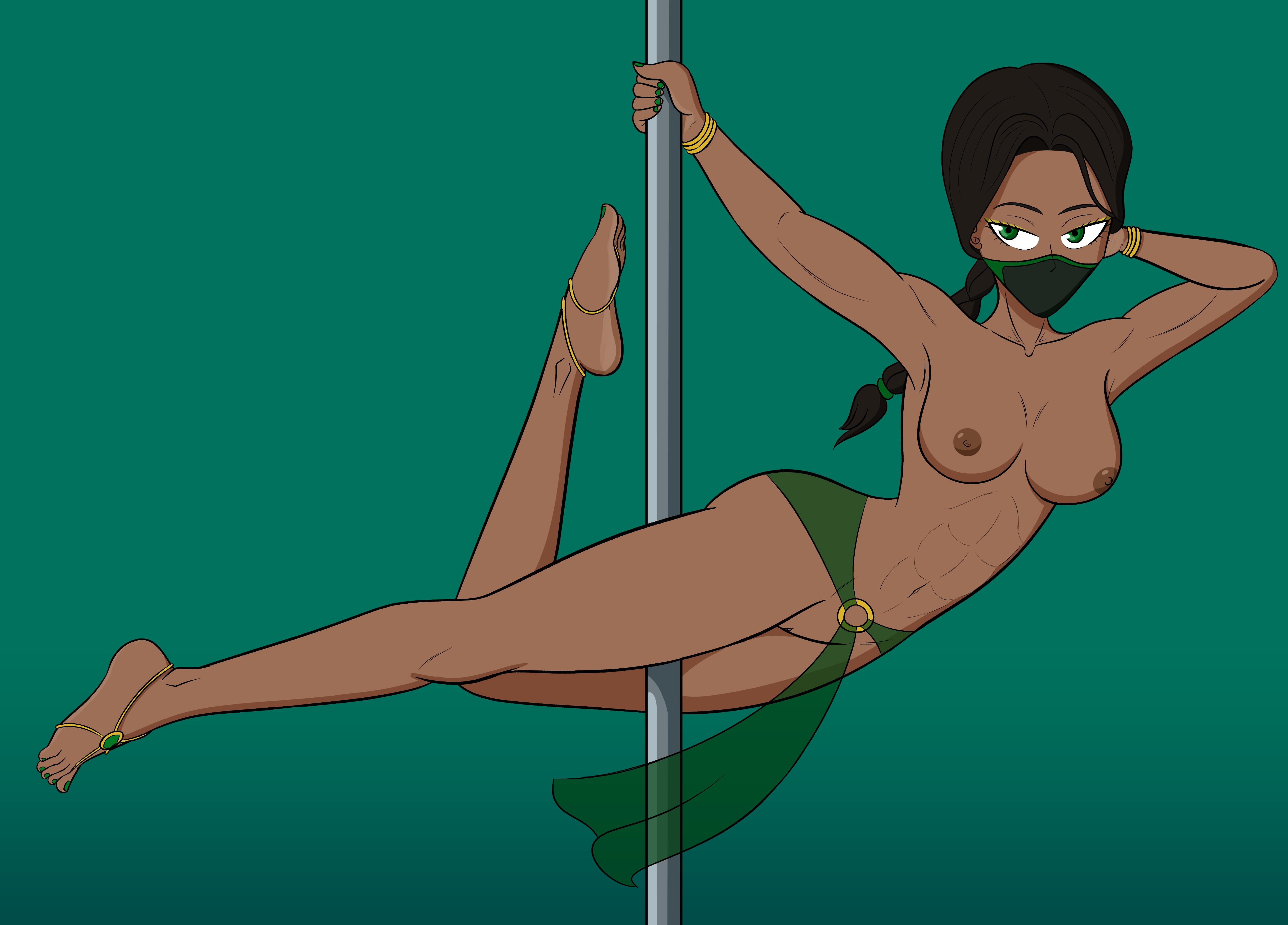Jade Pole Dance