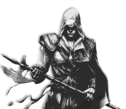 Ezio Auditore Vector