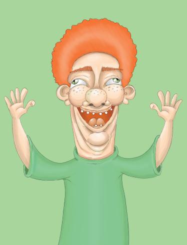 Afro Ginger