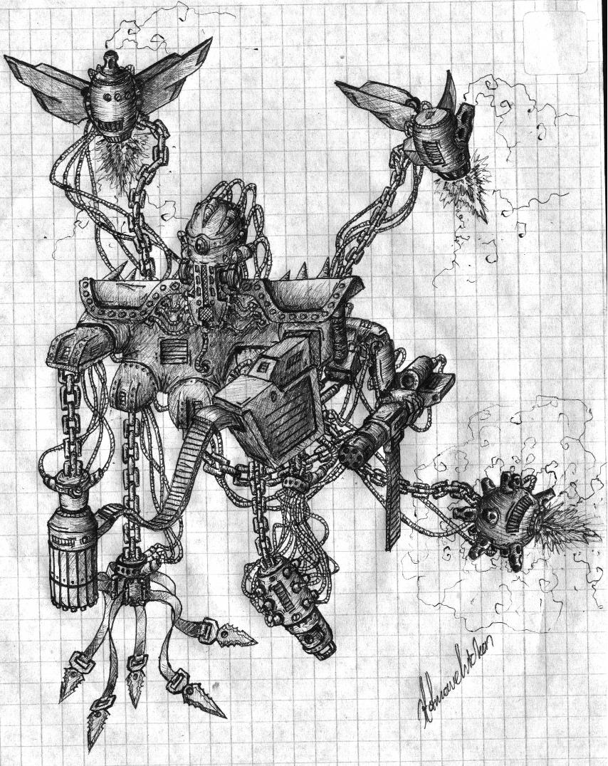 Chained Robot
