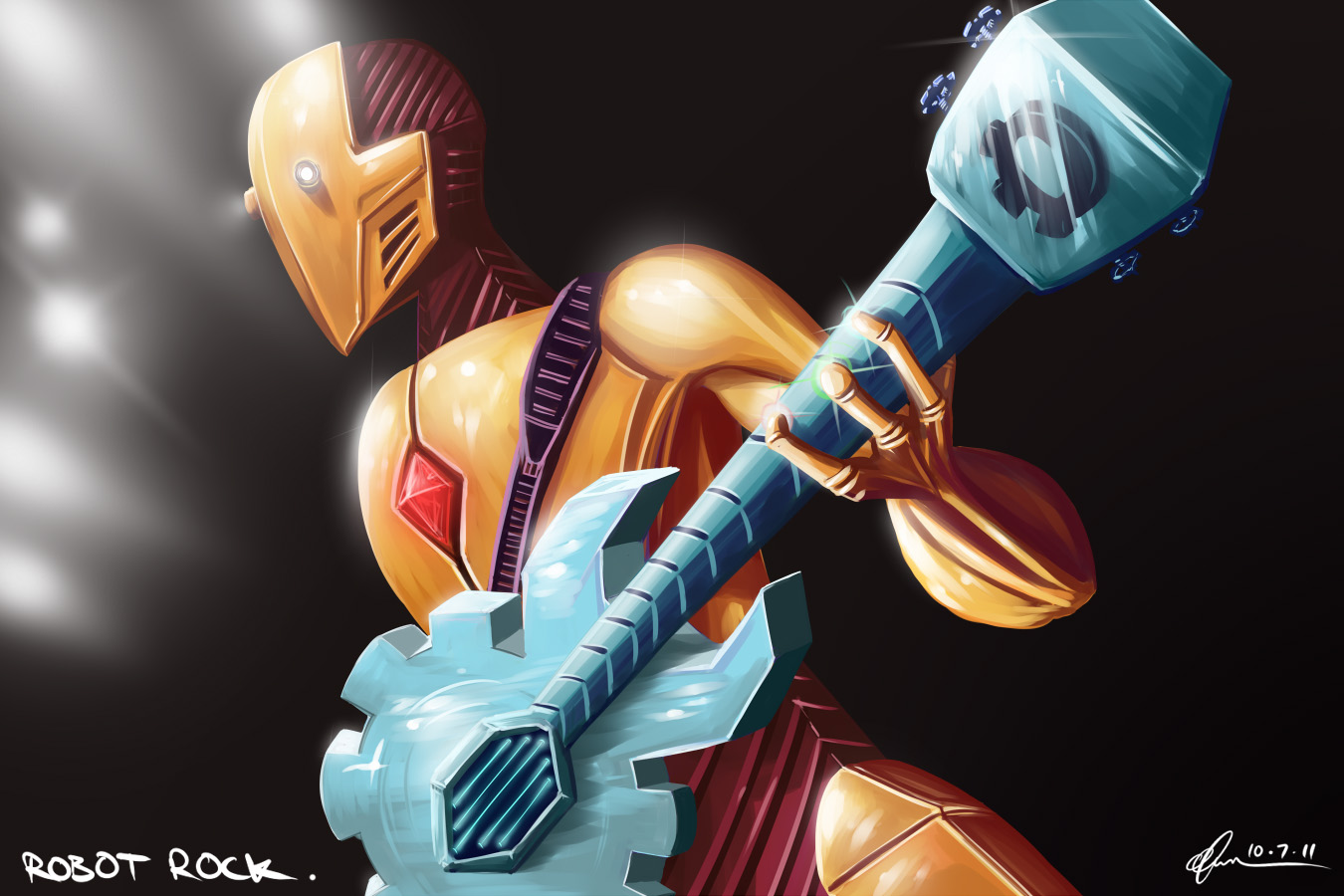 Robot Rock.