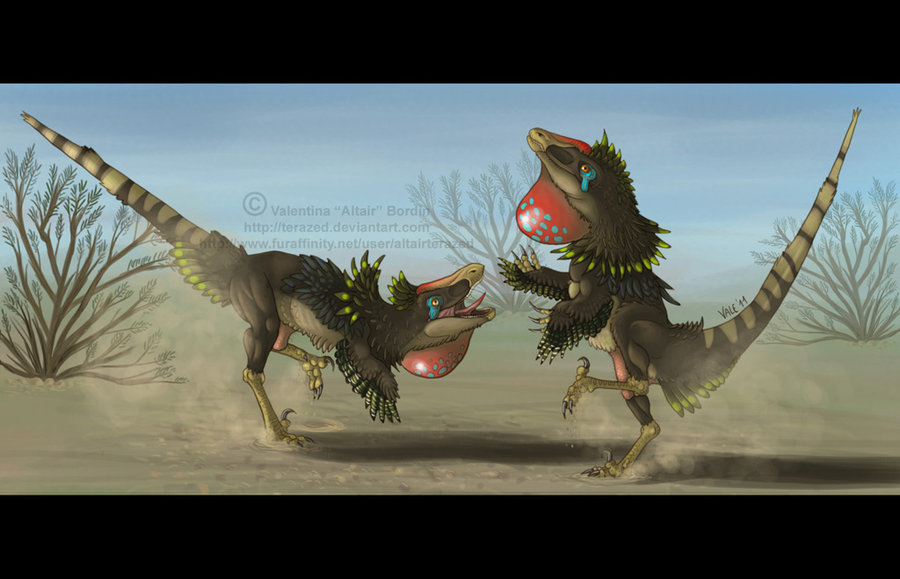 Velociraptor Dance