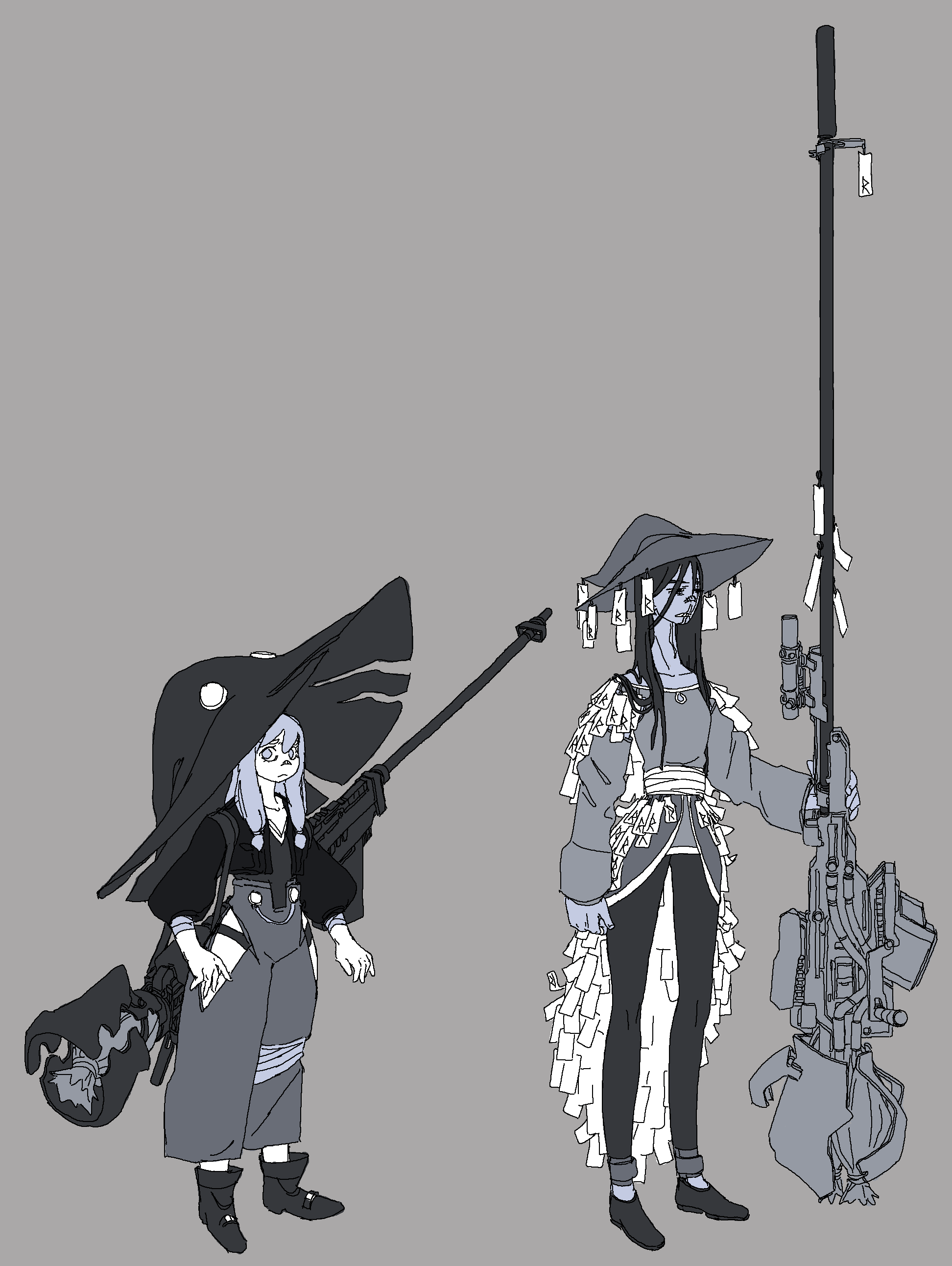 Assorted Gunwitch Concepts