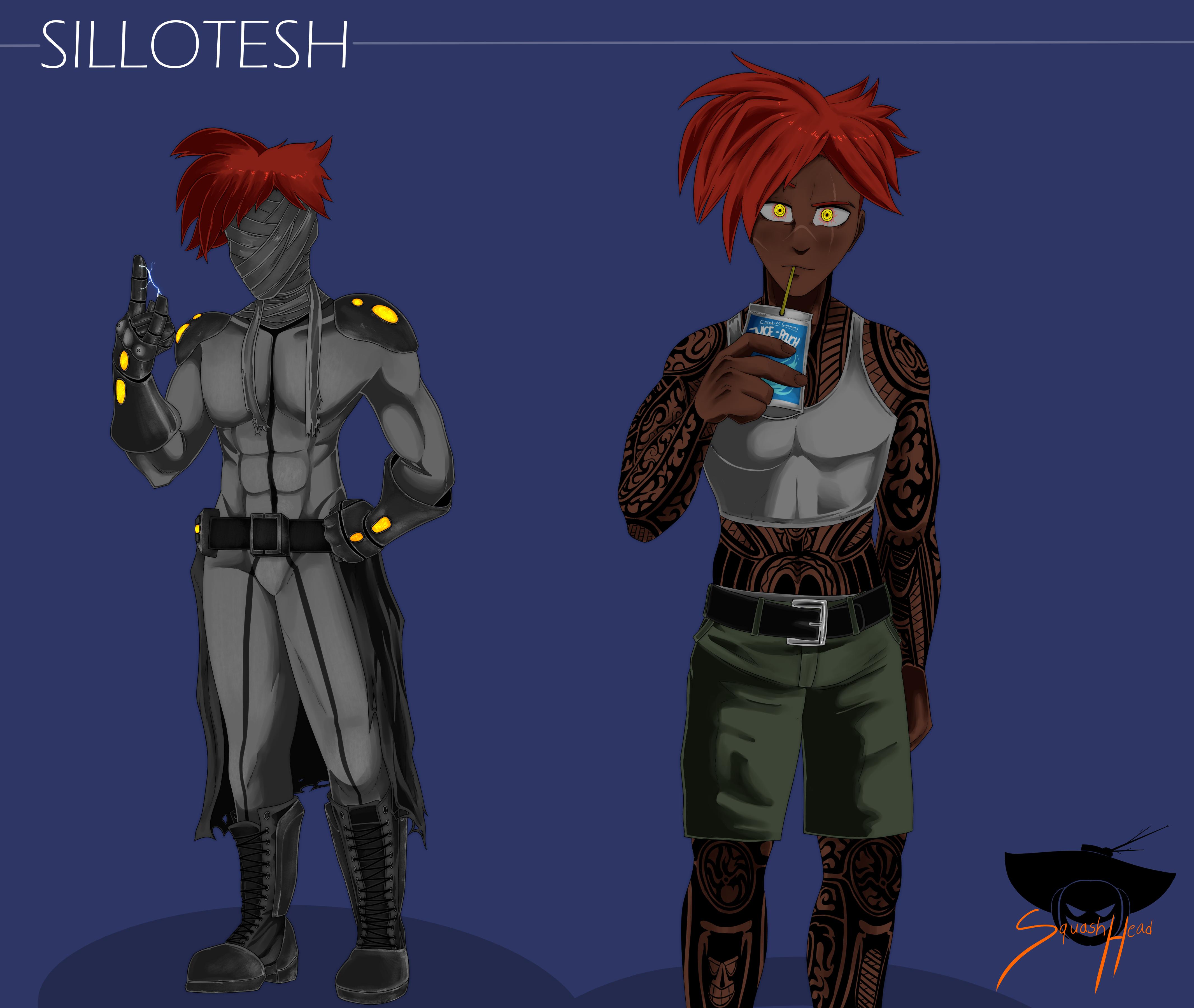 Sillotesh (DappaNAM) character