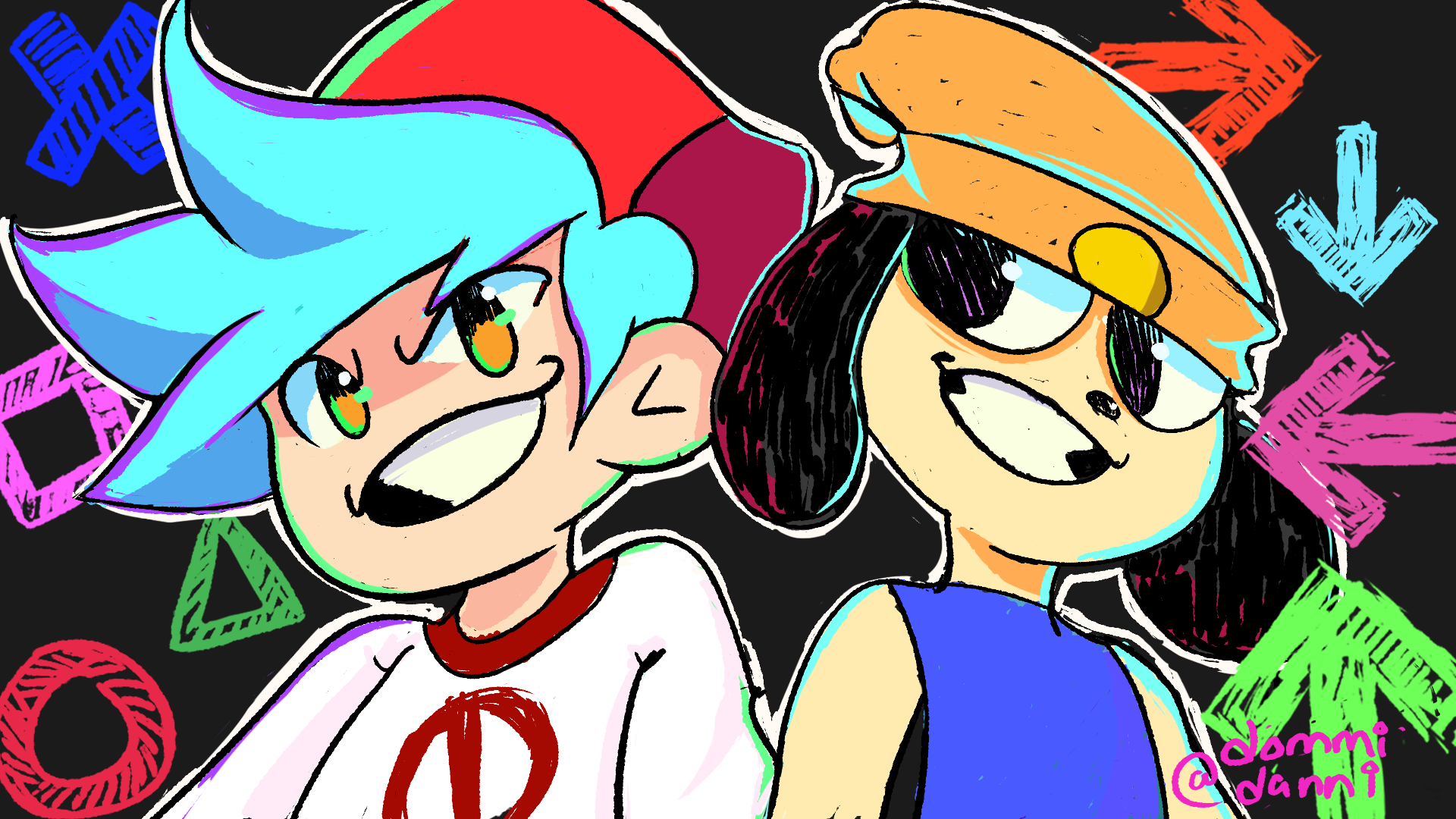 FNF & Parappa