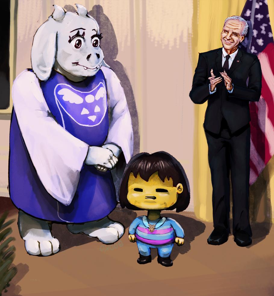 Biden Honors Frisk