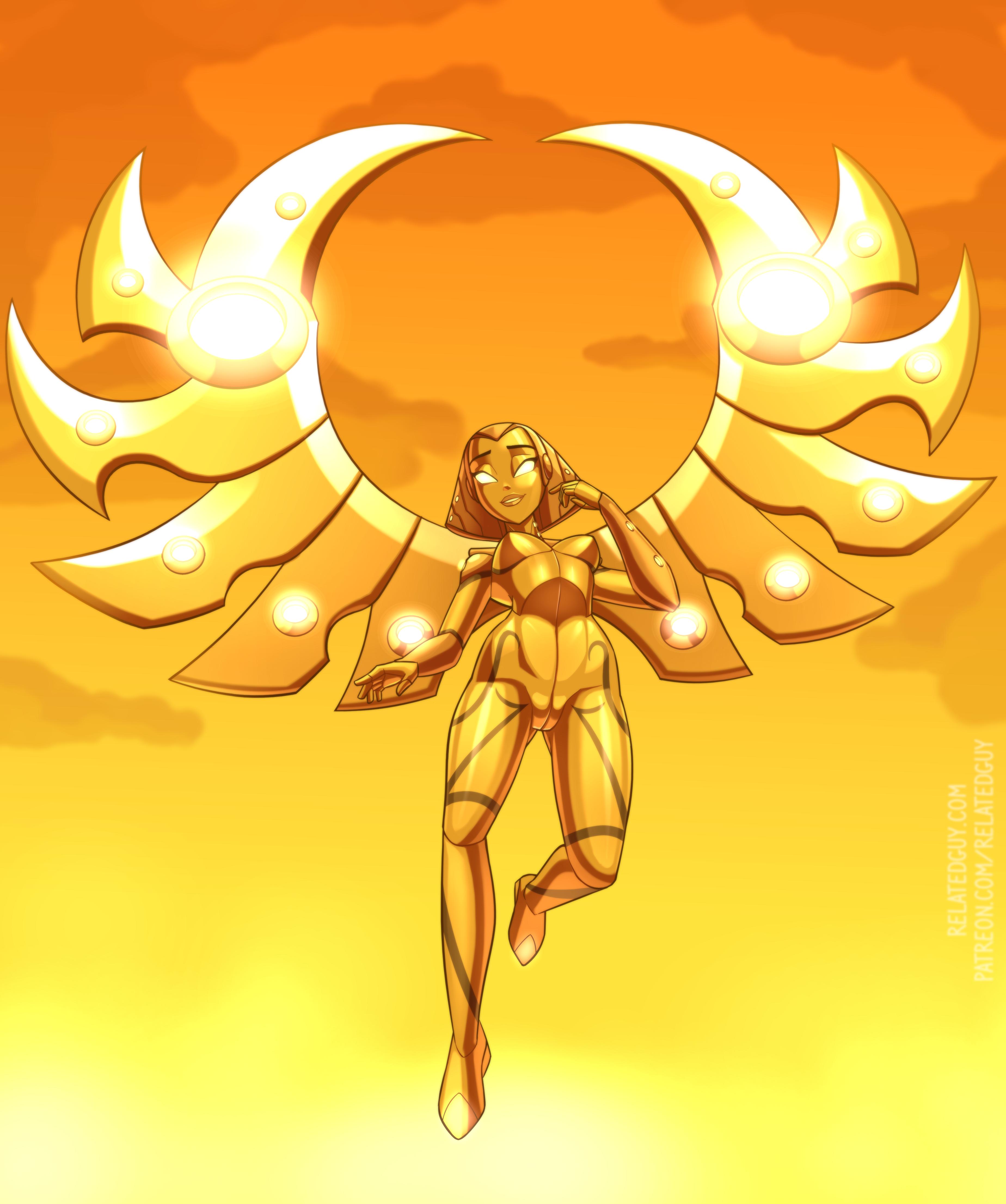 Sasha, Channeler of Light