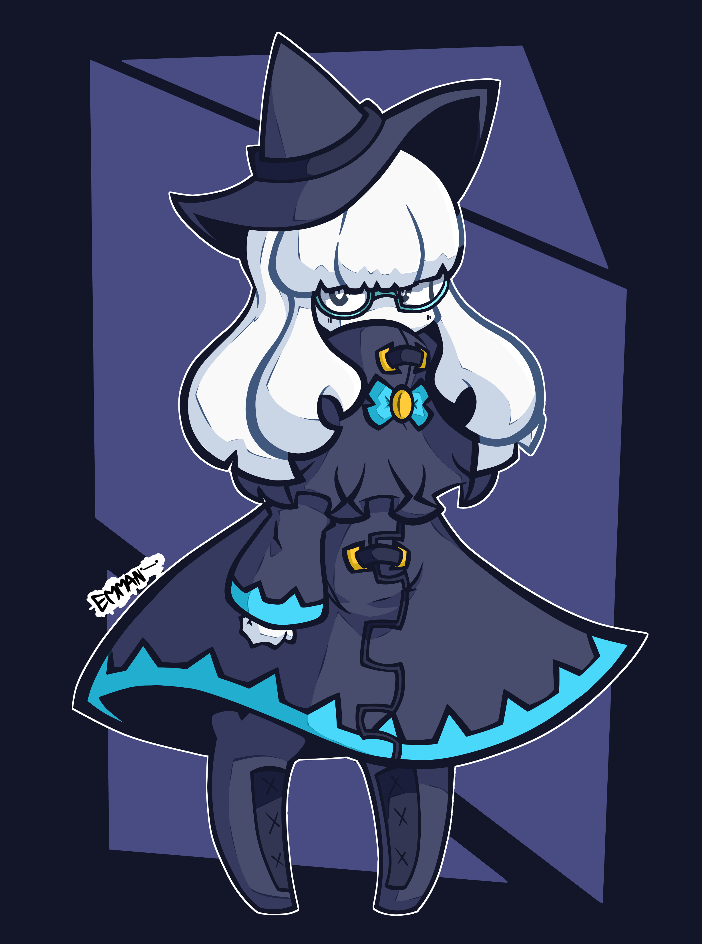 just an introverted but bizarre witch ._.
