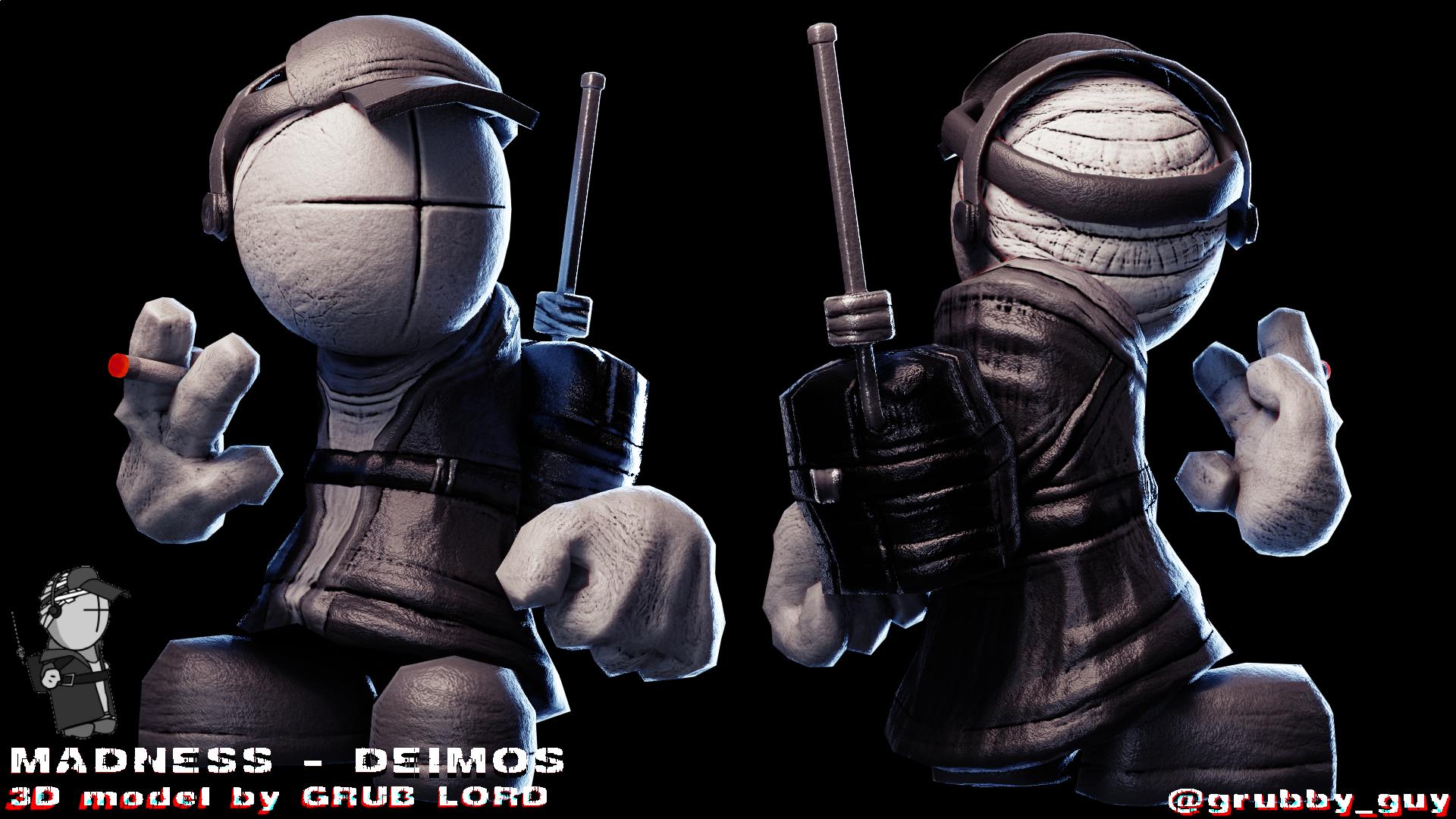 MADNESS - DEIMOS // 3D MODEL