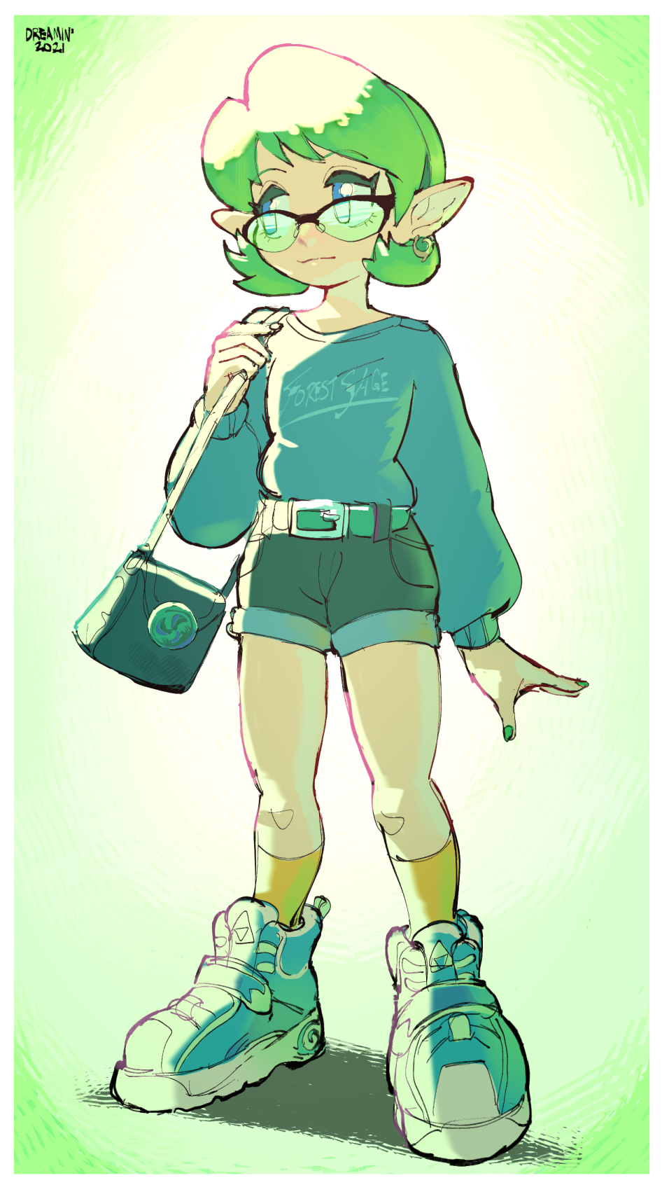 (COMMISSION) Modern day Forest Sage