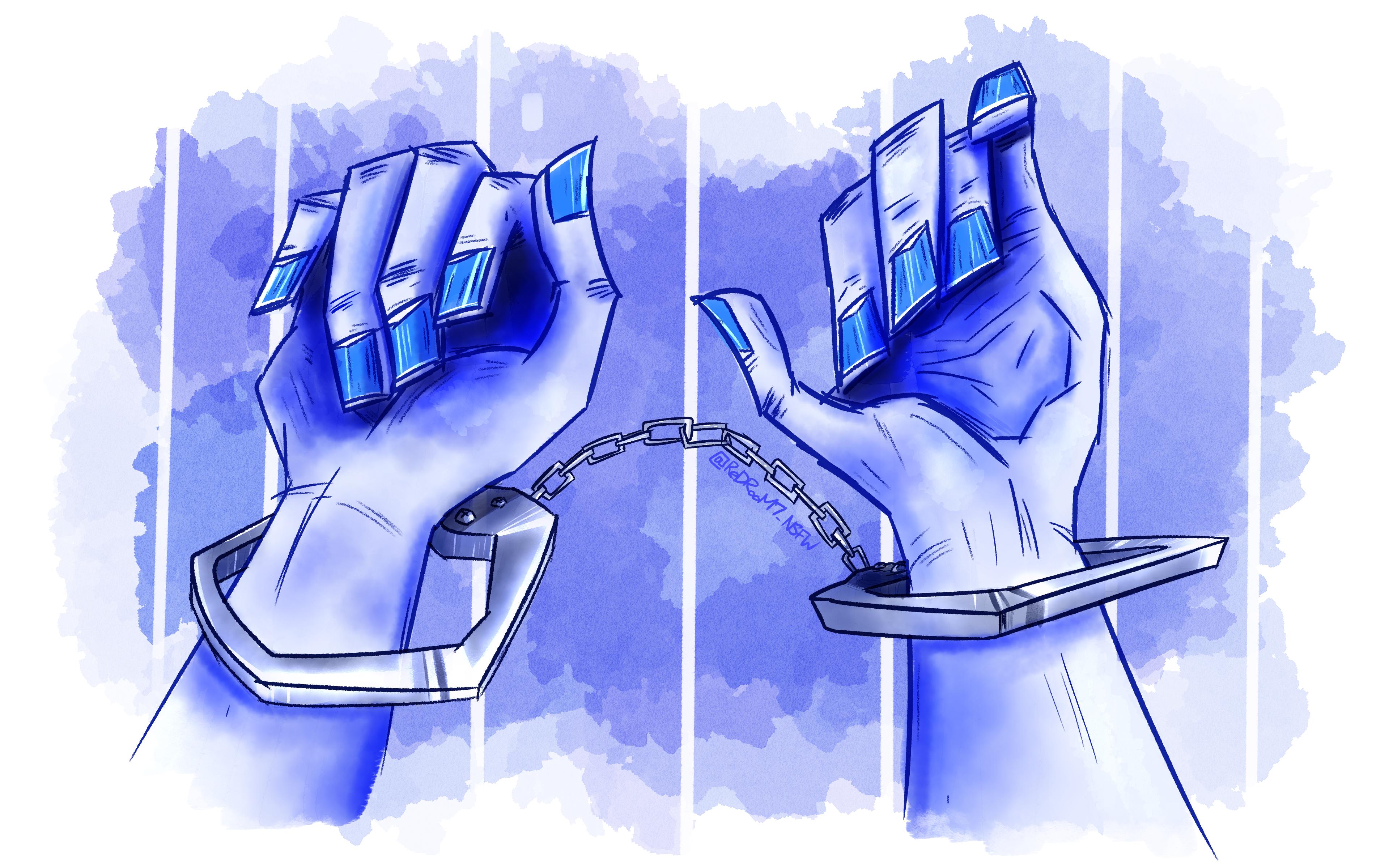 Handcuff Girl 1