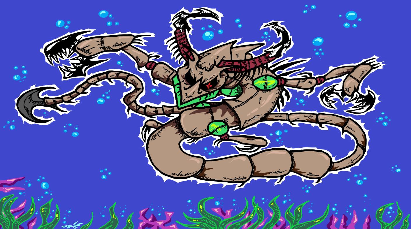 Sea Drapion : The underwater kaiju