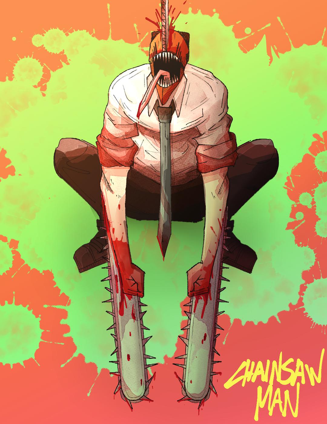 chainsaw man redraw