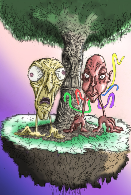Tree 2 heads Island