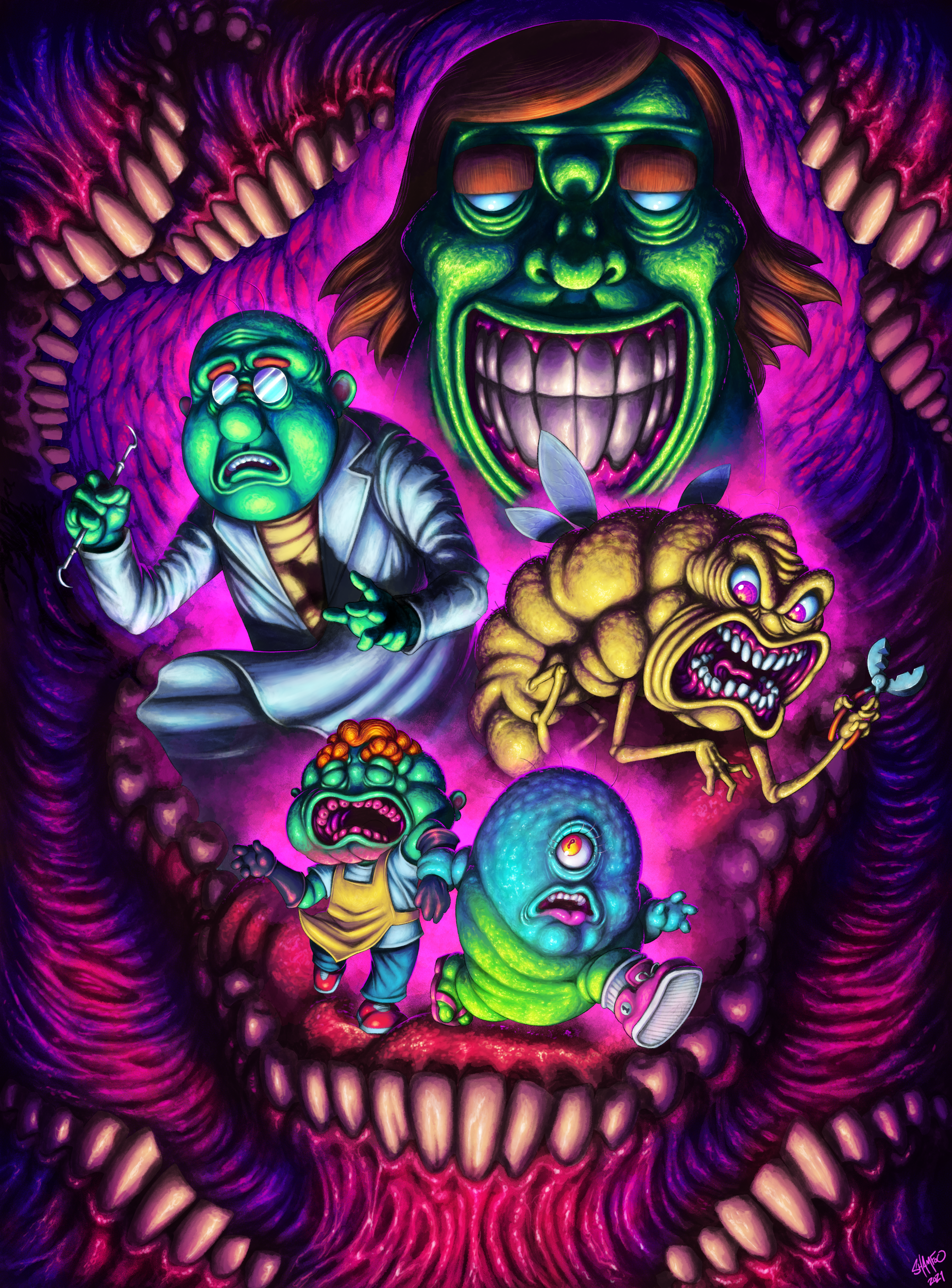 Monster Lab Ep. 2 Poster