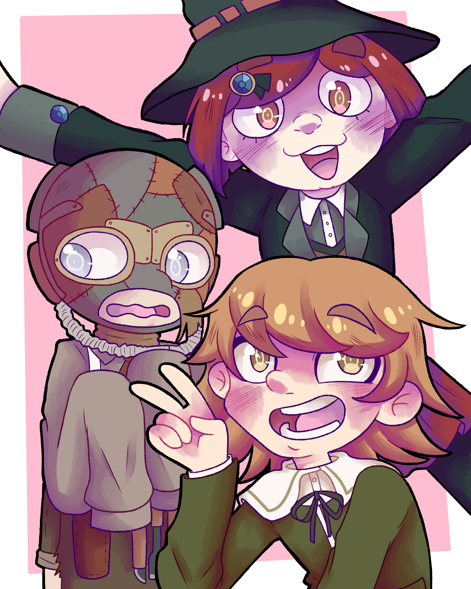 Danganronpa trio