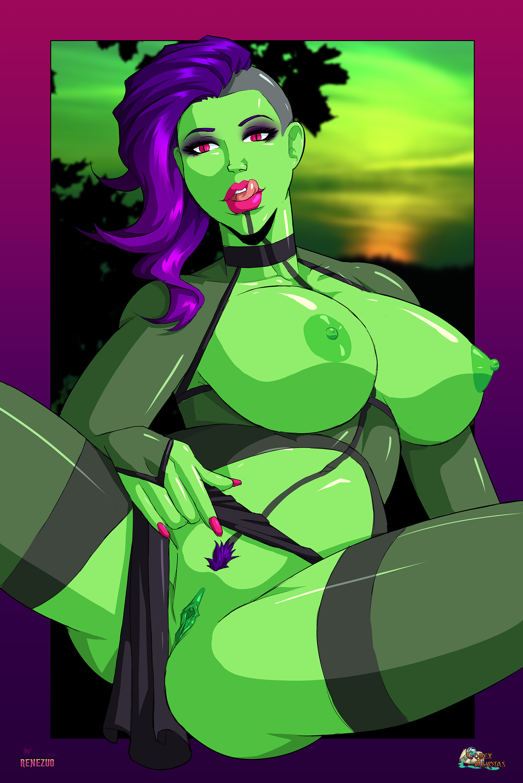 Peonny of the Verdant Lust