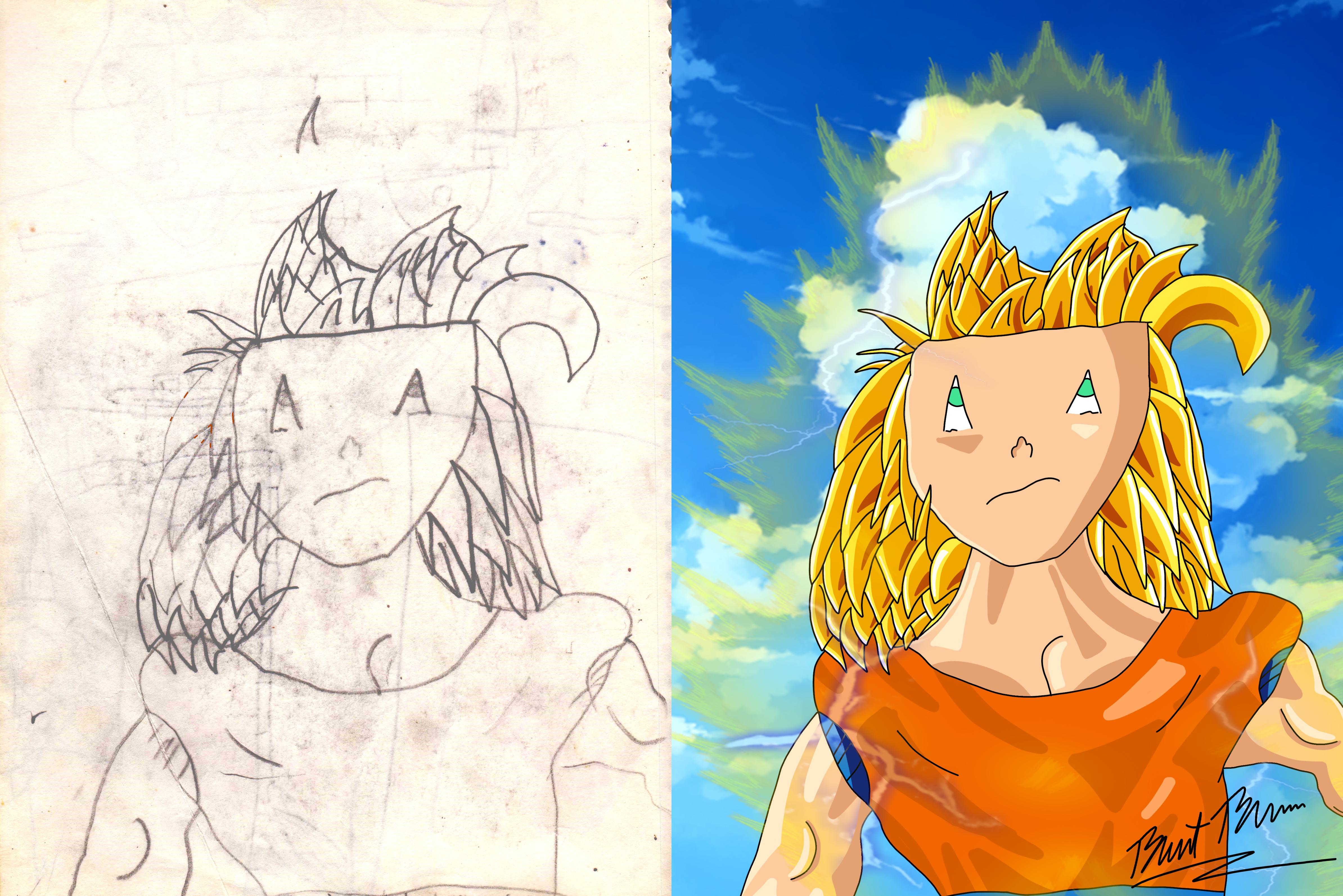 Redrawing Childhood Art #1 | 2002-2021