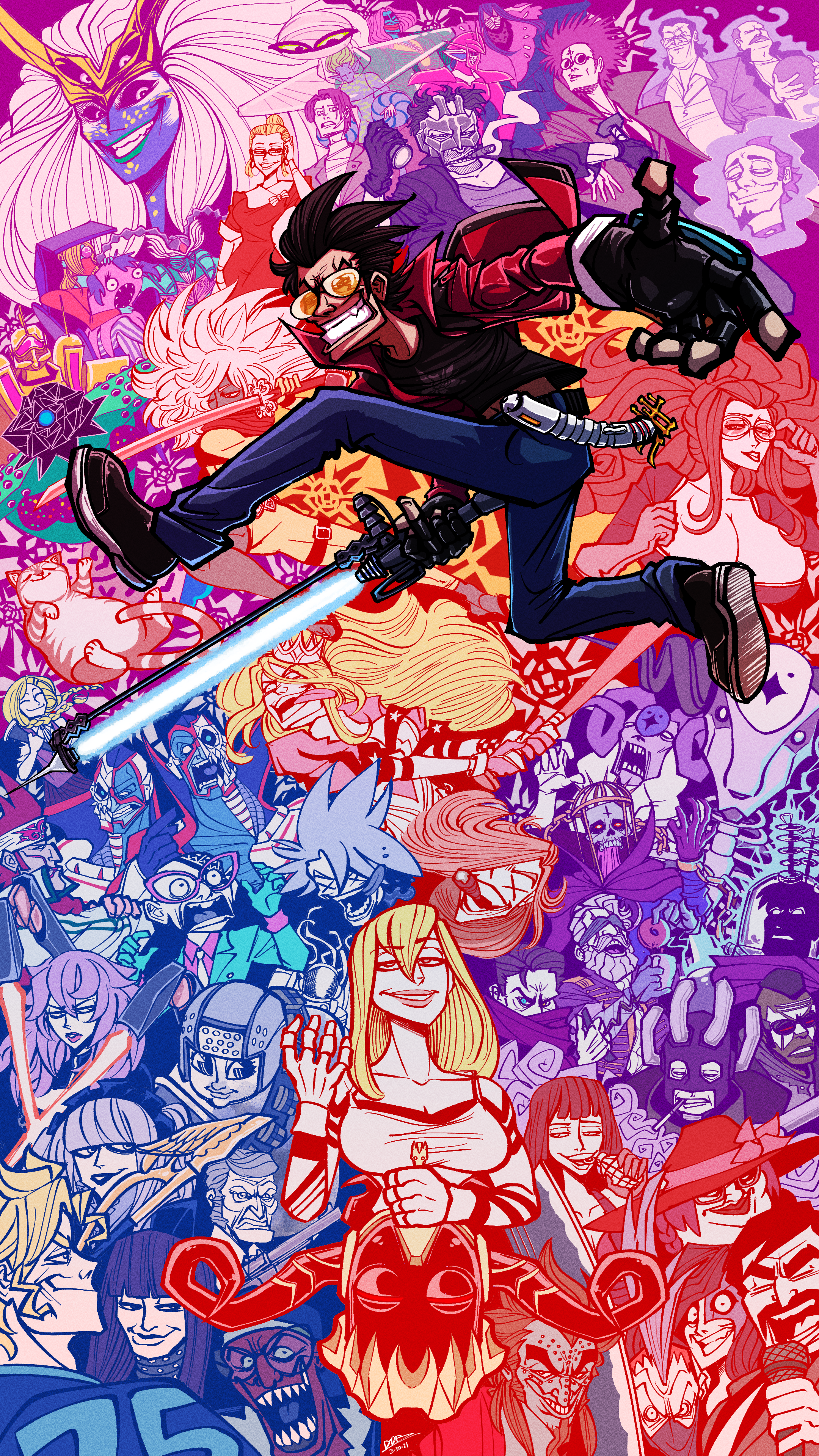 """A TRIBUTE TO """"NO MORE HEROES"""""""
