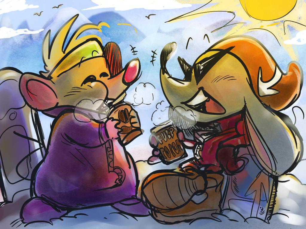 Warm break!