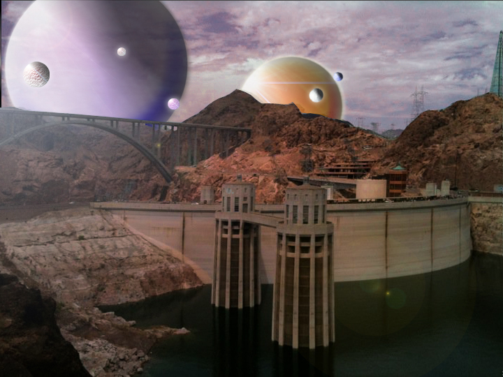 Hoover Dam, On Another World