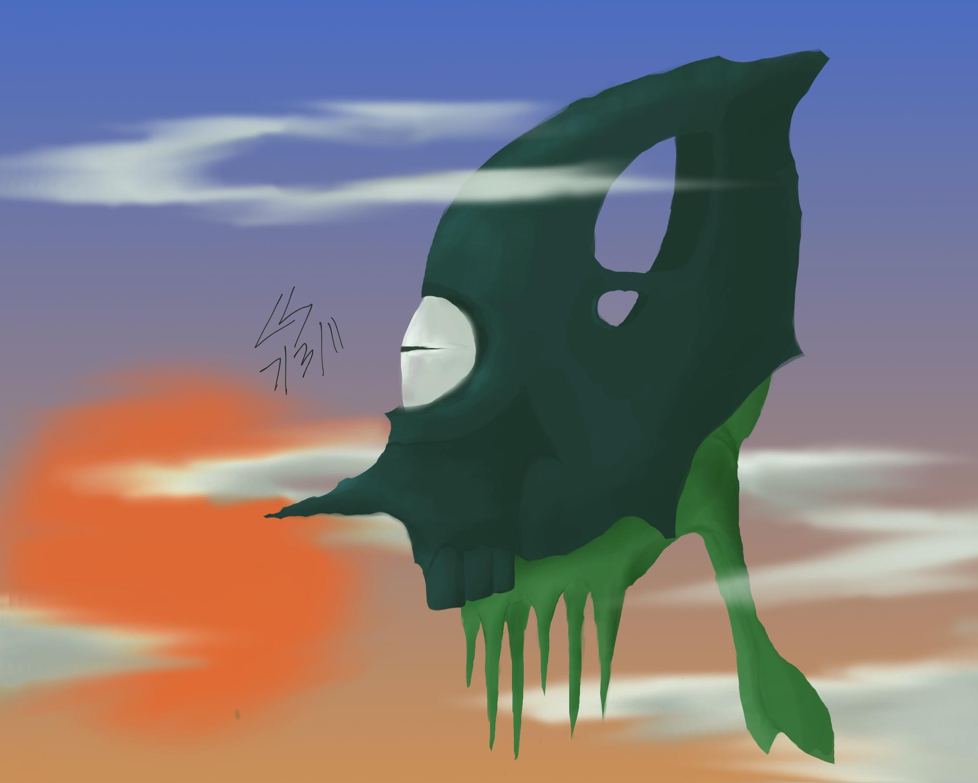 Flying Alien Squid