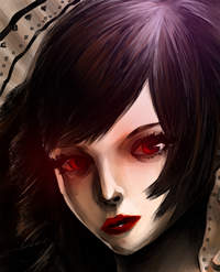 Girl from the darkness