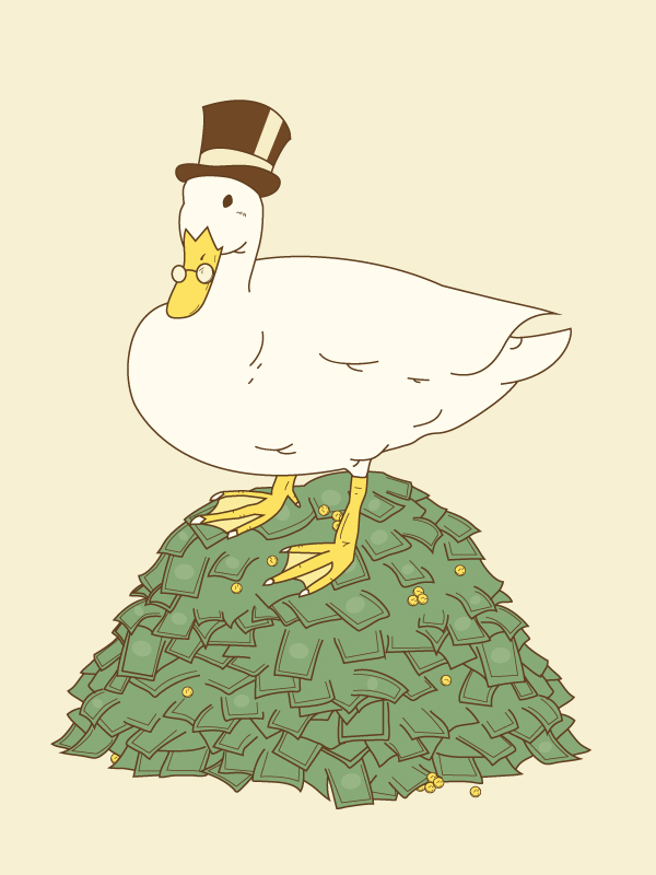 The Richest Duck In The World