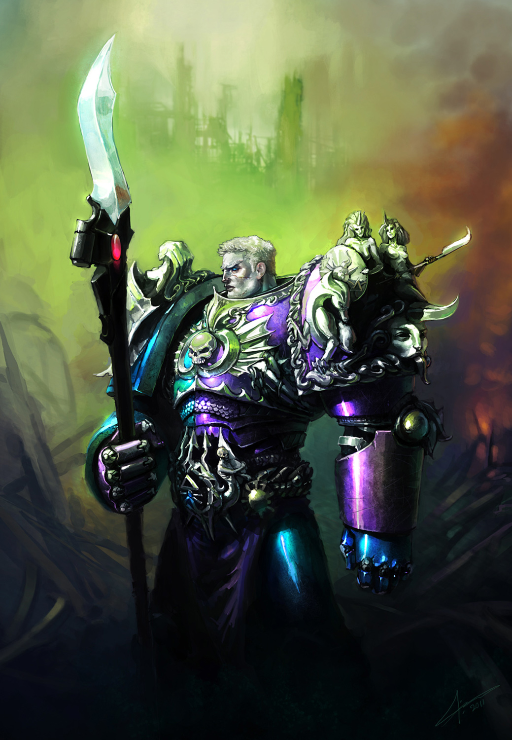 The XIth Primarch