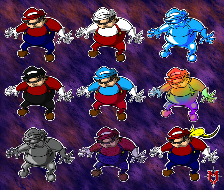 Many Marios