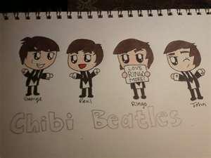 chibi beatles