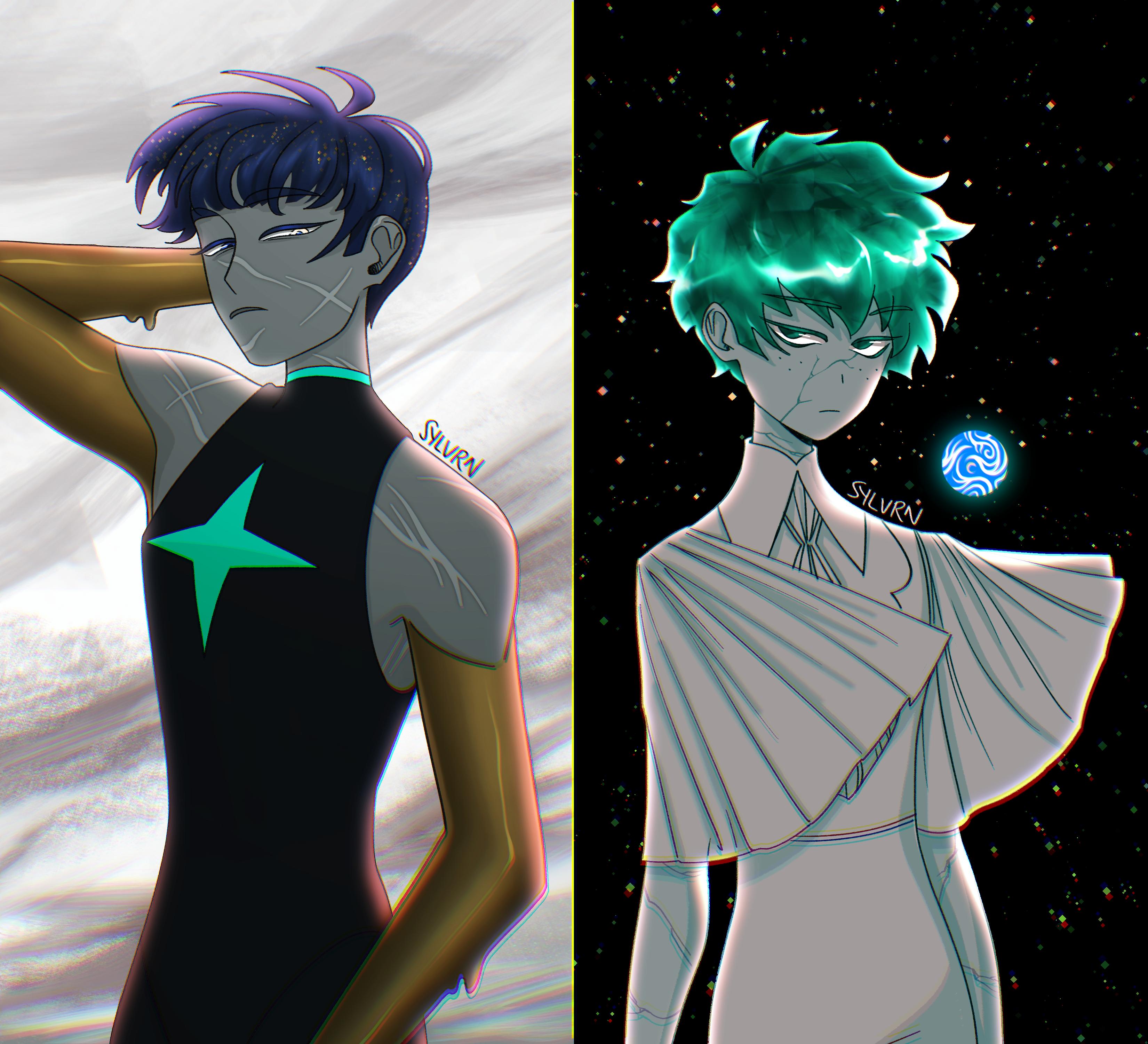 universe-swap—midoriya and phos