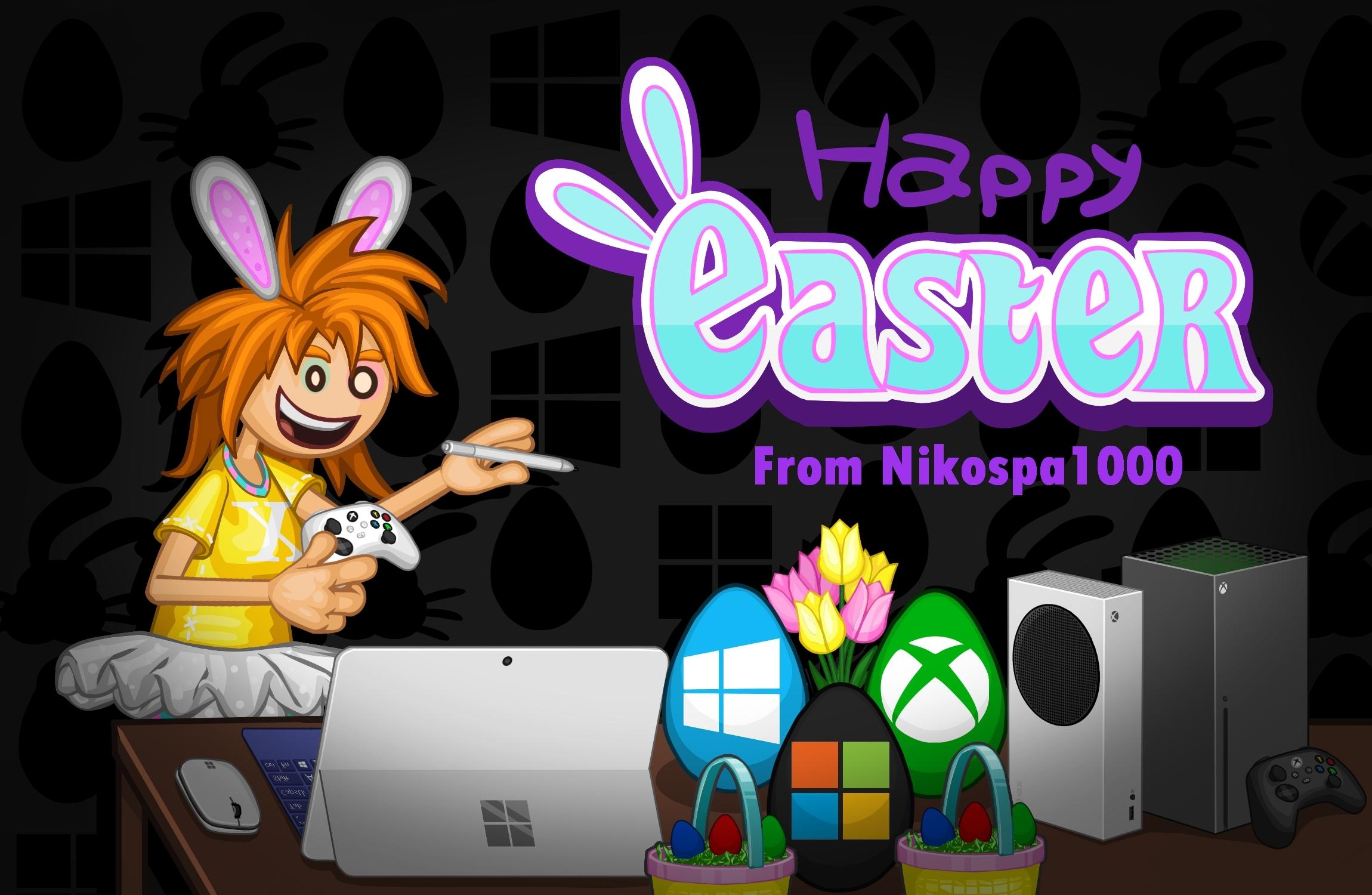 Happy Easter (microsoft) 💐🥚💻🎮